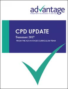 CPD update - Summer 2017