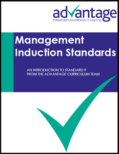 Management Induction Standards - Advantage Accreditation