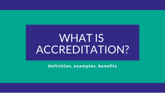 What is accreditation? - Advantage Accreditation