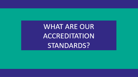 Accreditation Standards - Advantage Accreditation