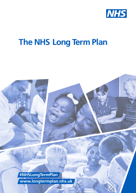 NHS Long Term Plan - Advantage Accreditation